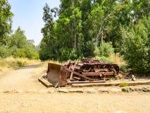 Rusted Bulldozer Stock Photos