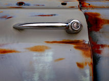Rusted Car Door Royalty Free Stock Photo
