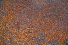 Rusted Caustic Metal. For Texture stock photography