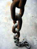 Rusted Chain. Chain stock images