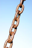 Rusted Chain Link Royalty Free Stock Photos
