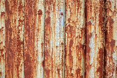 Rusted chipped metal paint background Stock Photography