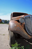 Rusted classic german car Royalty Free Stock Photo