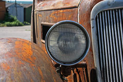 Rusted classic german car royalty free stock image