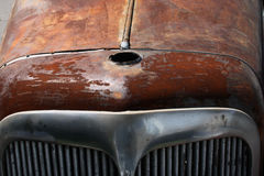 Rusted classic german car Stock Images