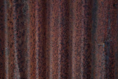 Rusted corrugated iron. Background of Rusted Corrugated Iron Stock Photography