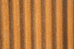 Rusted corrugated metal tin Royalty Free Stock Photo