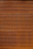 Rusted Corrugated Steel Background Stock Photography