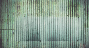 Rusted corrugated zinc sheet wall background Royalty Free Stock Photo
