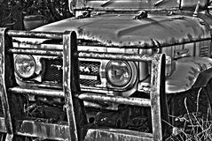 Rusted Cruiser. Rusted weather beaten toyota land cruiser Stock Image