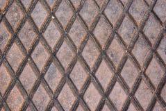 Rusted Diamonds Stock Photo