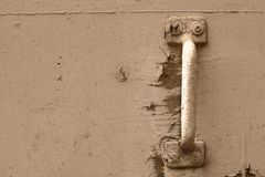 Rusted Door Handle Royalty Free Stock Photos