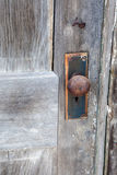 A Rusted Door Knob Royalty Free Stock Photography