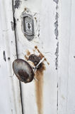 Rusted door knob Royalty Free Stock Photography