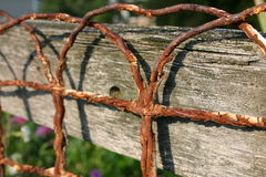 Rusted Fence Royalty Free Stock Image