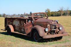 Rusted firetruck Royalty Free Stock Photos