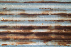 Rusted galvanisierte Lizenzfreie Stockfotografie