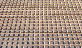 Rusted galvanisierte Eisenplatte Stockfotografie