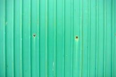 Rusted galvanisierte Eisenplatte Stockfoto