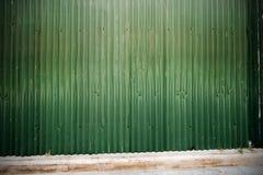 Rusted galvanisierte Eisenplatte Stockfotos