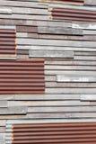 Rusted galvanisierte Eisenplatte Lizenzfreie Stockfotos