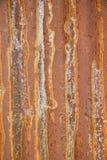 Rusted galvanisierte Eisenplatte Musterschmutzart Lizenzfreies Stockbild