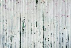 Rusted galvanisierte Eisenplatte und Hintergrundfoto Lizenzfreies Stockfoto