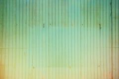 Rusted galvanisierte Eisenplatte und Hintergrundfoto Stockbild