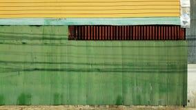 Rusted galvanisierte Eisenplatte und Hintergrundfoto Stockfotos