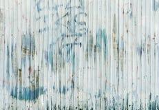 Rusted galvanisierte Eisenplatte und Hintergrundfoto Stockbilder