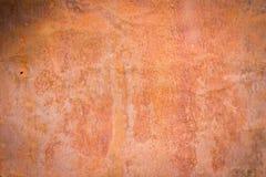 Rusted galvanisierte Eisenplattenhintergrund Lizenzfreies Stockfoto