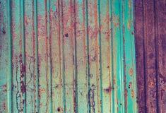Rusted galvanizó textura del grunge de la placa del hierro Imagen de archivo