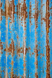 Rusted galvanized iron plate. pattern grunge style Royalty Free Stock Photo