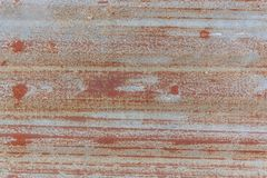 Rusted galvanized iron plate stock images