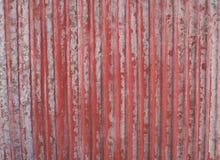 Rusted galvanizou a placa do ferro Fotografia de Stock Royalty Free