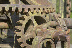 Rusted gears Royalty Free Stock Photography