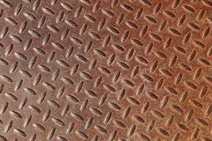 Rusted grated metal Royalty Free Stock Photo