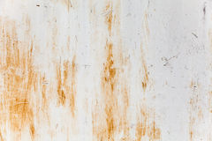Rusted gray metal wall Stock Photo