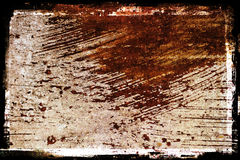 Rusted grunge Metal. A rusty painted metal grunge textured background stock photography