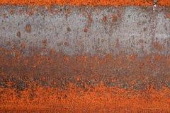 Rusted I-beam detail Stock Photo