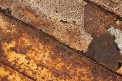 Rusted iron. Royalty Free Stock Images