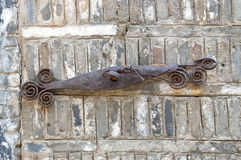 Rusted Iron Art Royalty Free Stock Images