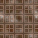Rusted iron plate seamless generated texture Royalty Free Stock Photography