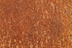 Rusted iron plate texture Royalty Free Stock Photo