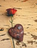 Rusted love Stock Photo