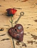 Rusted love royalty free stock image