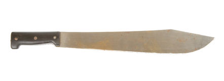 Rusted machete Stock Image