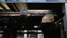 Rusted machine Royalty Free Stock Photography