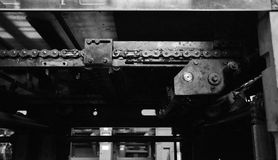 Rusted machine Royalty Free Stock Photo
