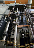 Rusted machine in factory Royalty Free Stock Image